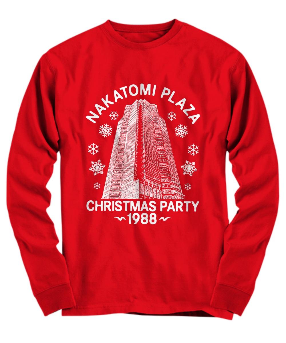 Nakatomi plaza Christmas party 1988 shirt, hoodie, sweatshirt, long ...