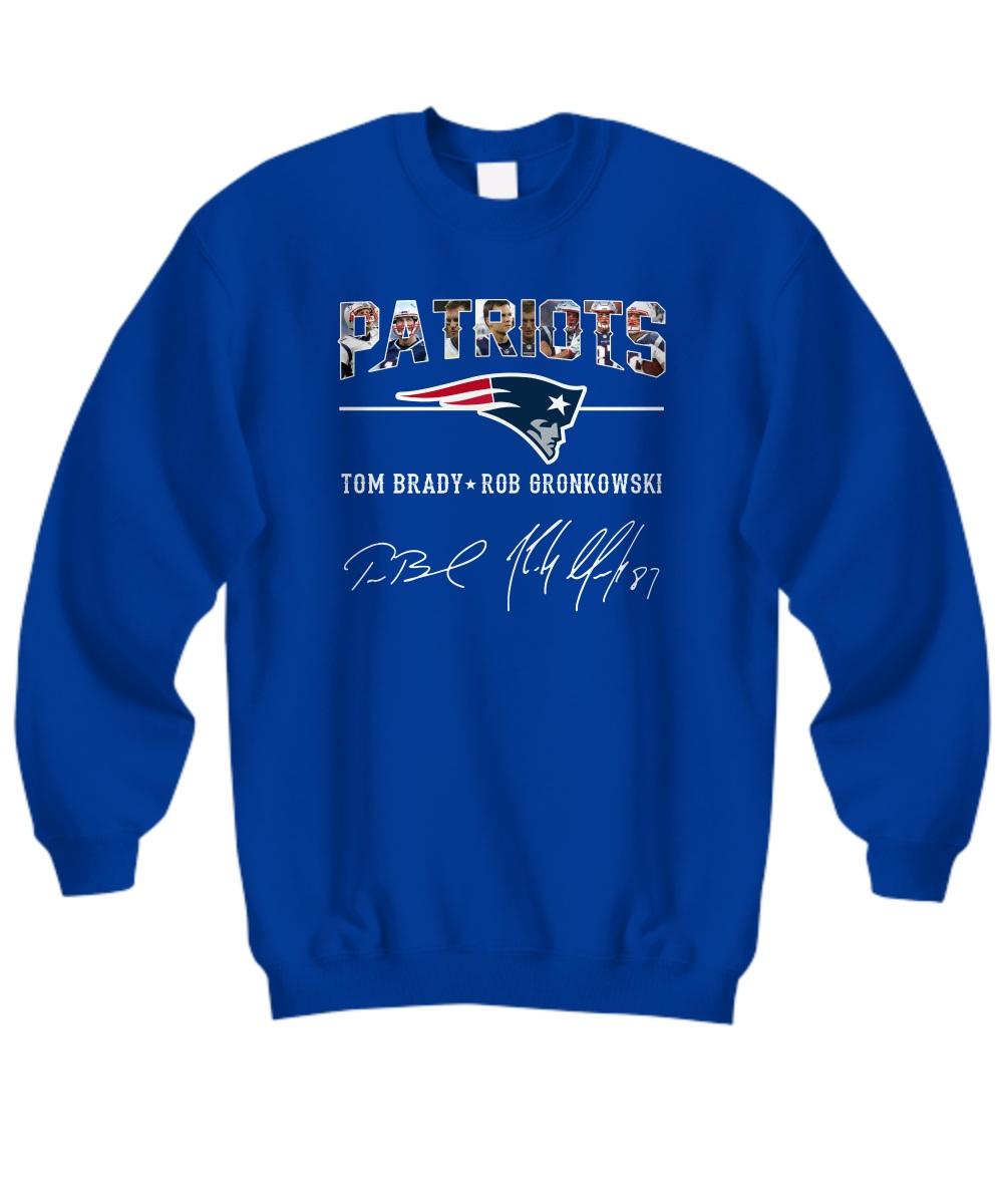 Patriots Tom Brady Rob Gronkowski sweatshirt