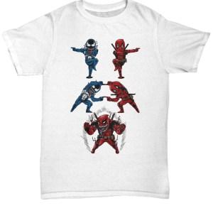 Venom deadpool fusion funny shirt