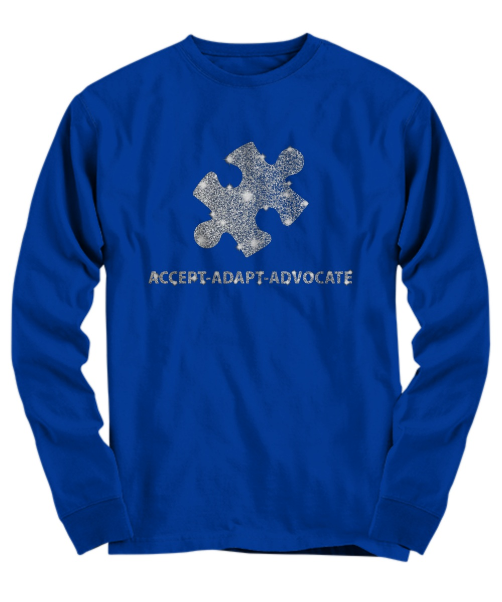 Accept adapt advocate long sleeve