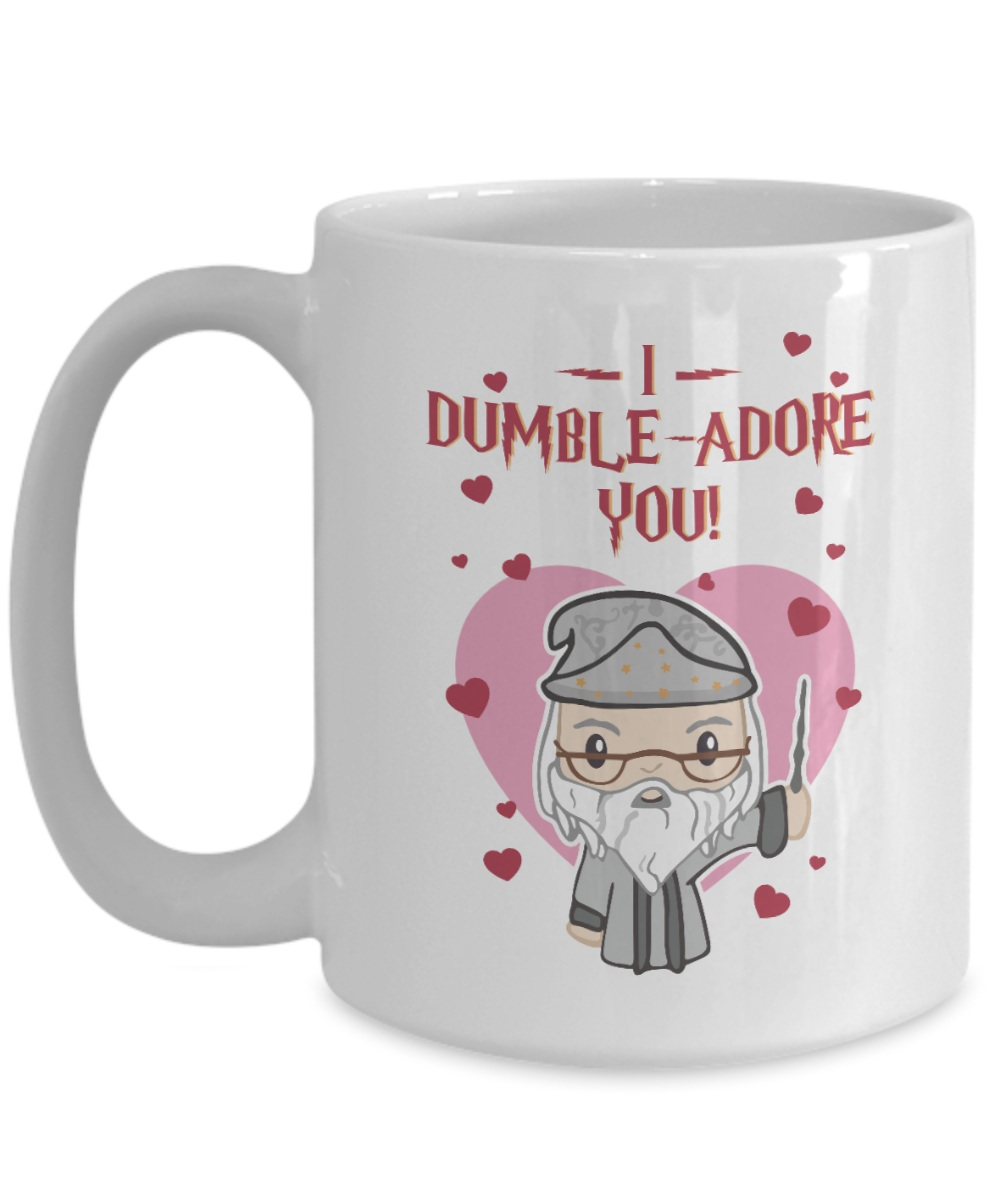 I dumble adore you valentine mug size 15oz