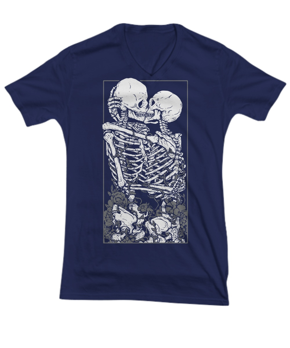 Skull The Lovers v-neck