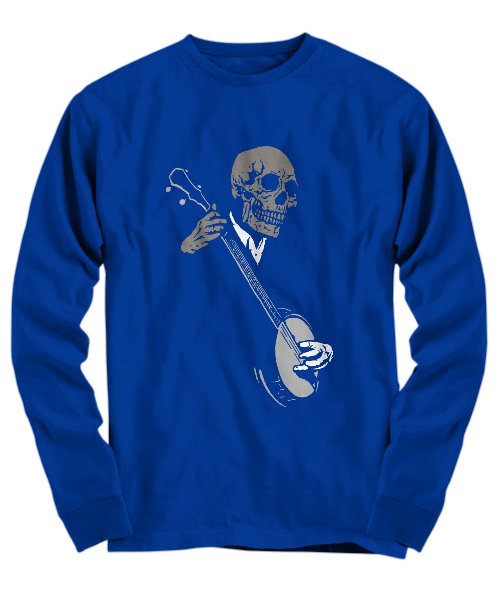 Skullboys' Banjo Blues long sleeve
