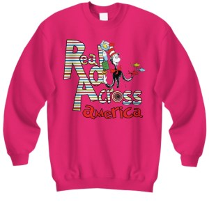 Dr Seuss Read across america Sweatshirt