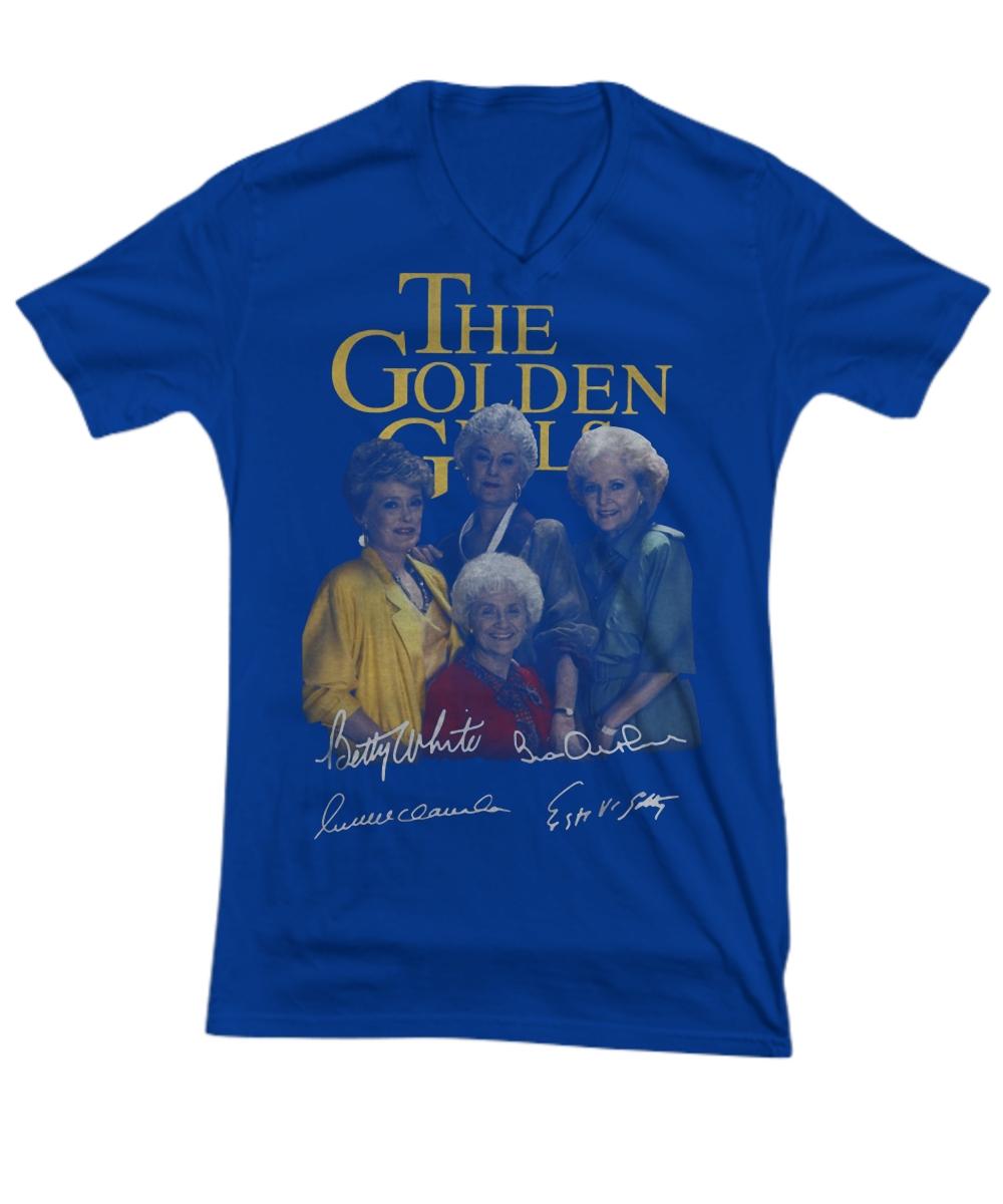 The Golden girl signatures V-Neck Tee