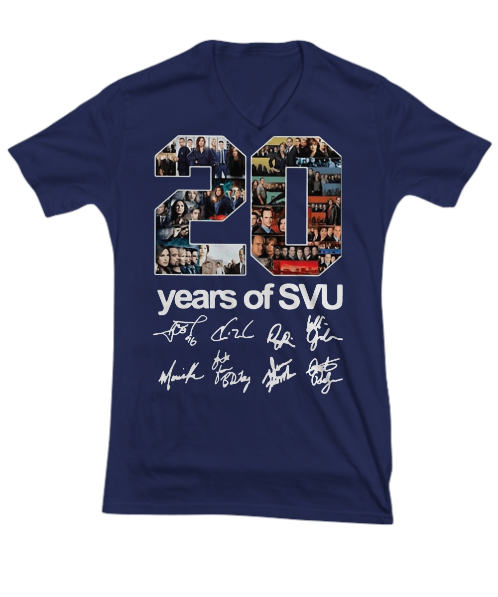 20 years of SVU signatures V-Neck Tee