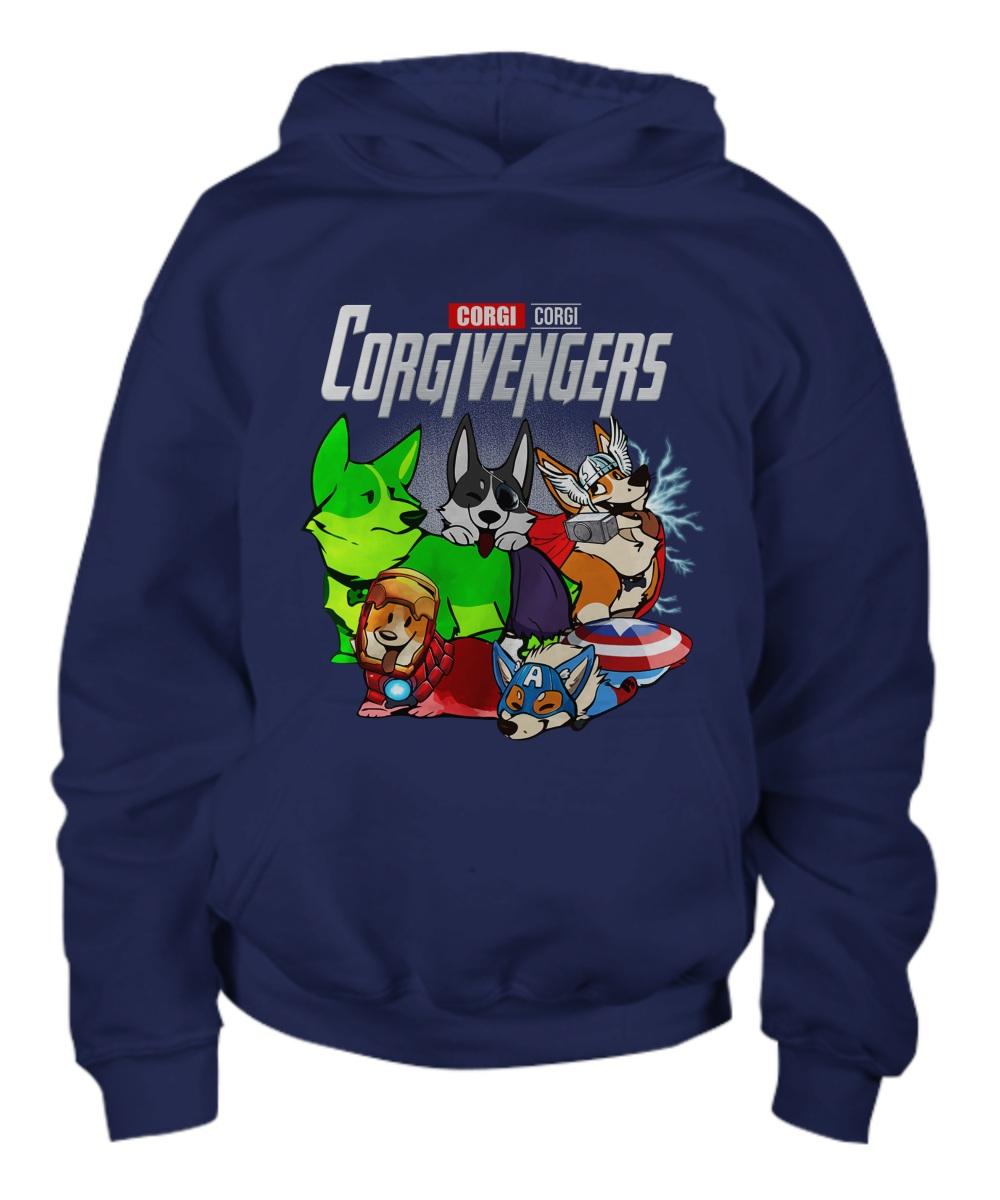 Corgi avengers Hoodie
