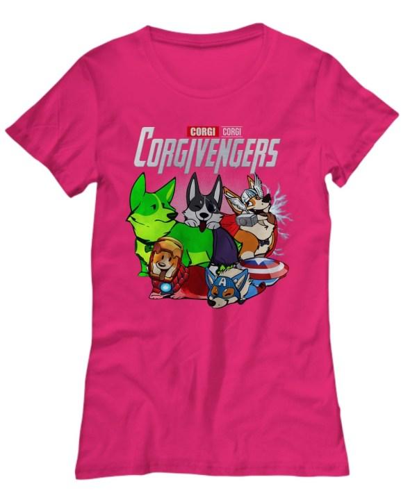 Corgi avengers Shirt