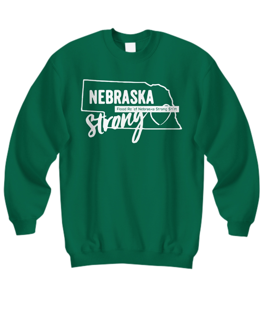 Nebraska Strong Nebraska Strong Flooding Sweatshirt