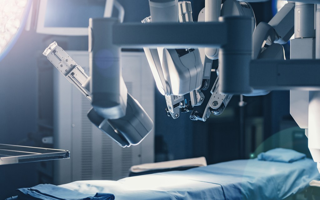 Robotic medical equipment