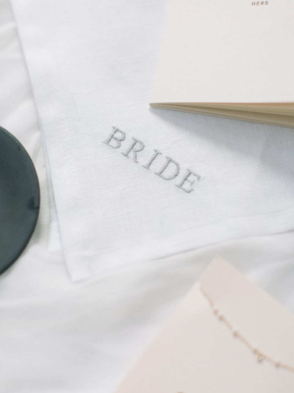 It's all in the details! An image of eco- friendly wedding decor.