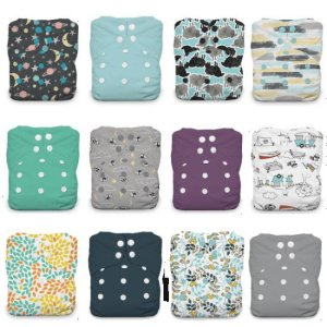 TGN baby reusable cloth diapers- 12 pack