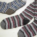 ネパール手編みソックス