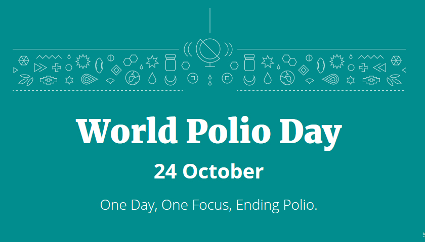 Image result for world polio day 2019 theme