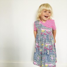 Delightful Tutti Frutti girls dress