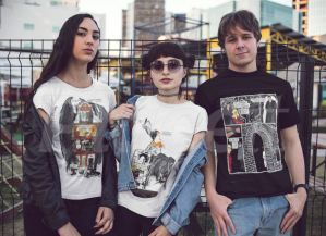 Limited edition t-shirts tell a story over a series