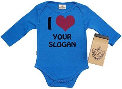 e66cec9b6 PERSONALISED I Love Your CUSTOM Organic Baby Vest – Babygrow – Baby Onesie  in Milk Carton ...