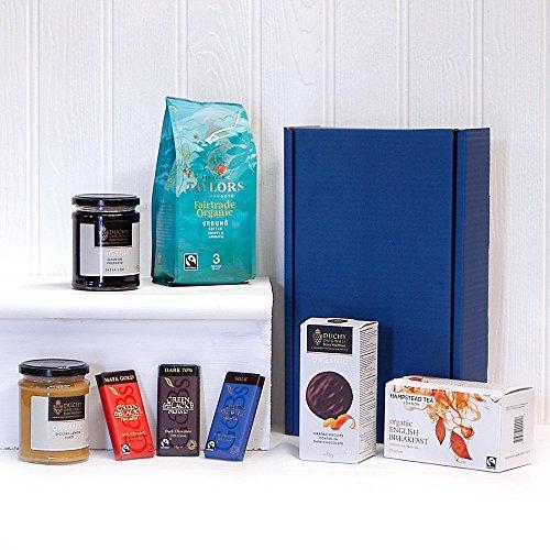 Deluxe Organic Tea Coffee Gift Box Luxury 18th 21st 30th 40th 50th 60th 70th 80th 90th Birthday Gifts Teachers Wedding Anniversary