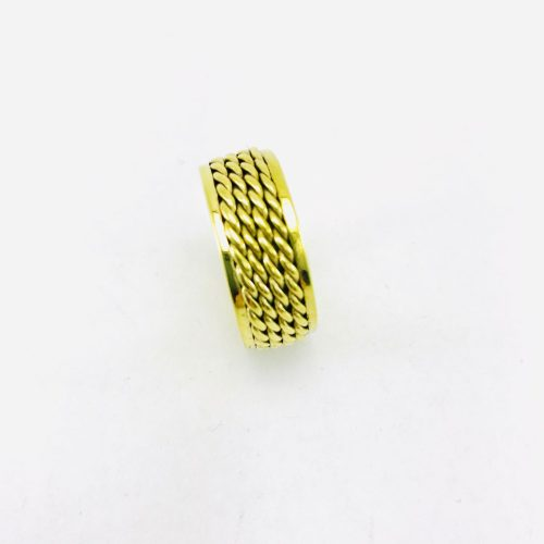 Braided Ring – Recycled Brass