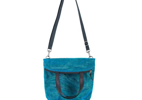 Voyager - Ethical Tote Bag - Oil Blue