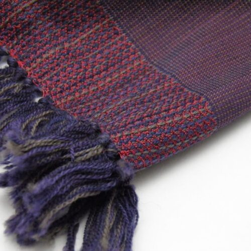 Men's Wool And Silk Scarf
