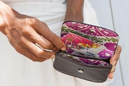 Porte-cartes – Cuir éco-responsable – Détail