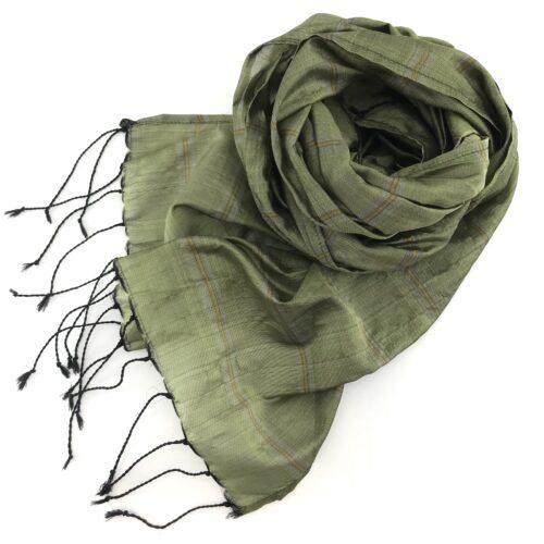 Fair Trade Scarf - Green Tea - Essential