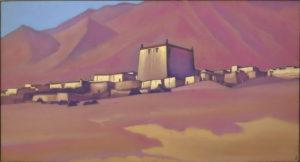 Картина Н.К.Рериха. Чату-Гомпа. Тибет 1940