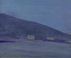 Картина Н.К.Рериха. Нагчу, Тибет 1928