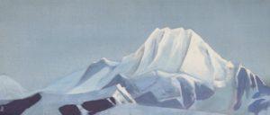 Картина Н.К.Рериха. Тибет 1935-1936