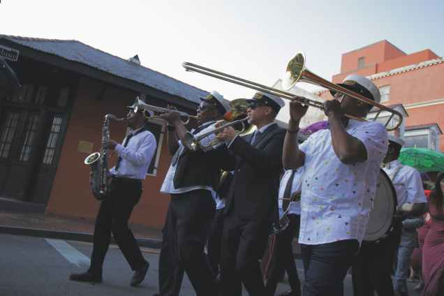 people playing wind instruments
