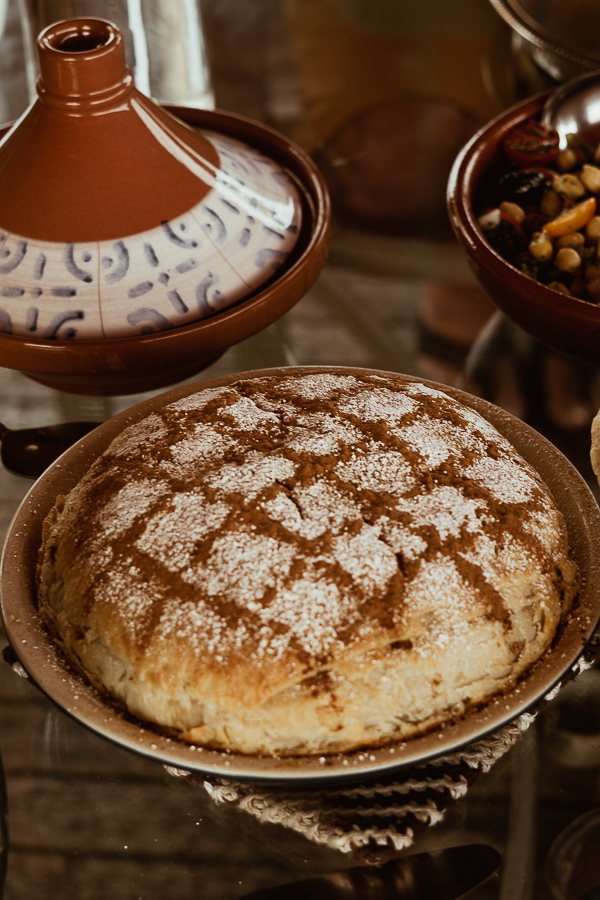Traditional Moroccan Bastilla