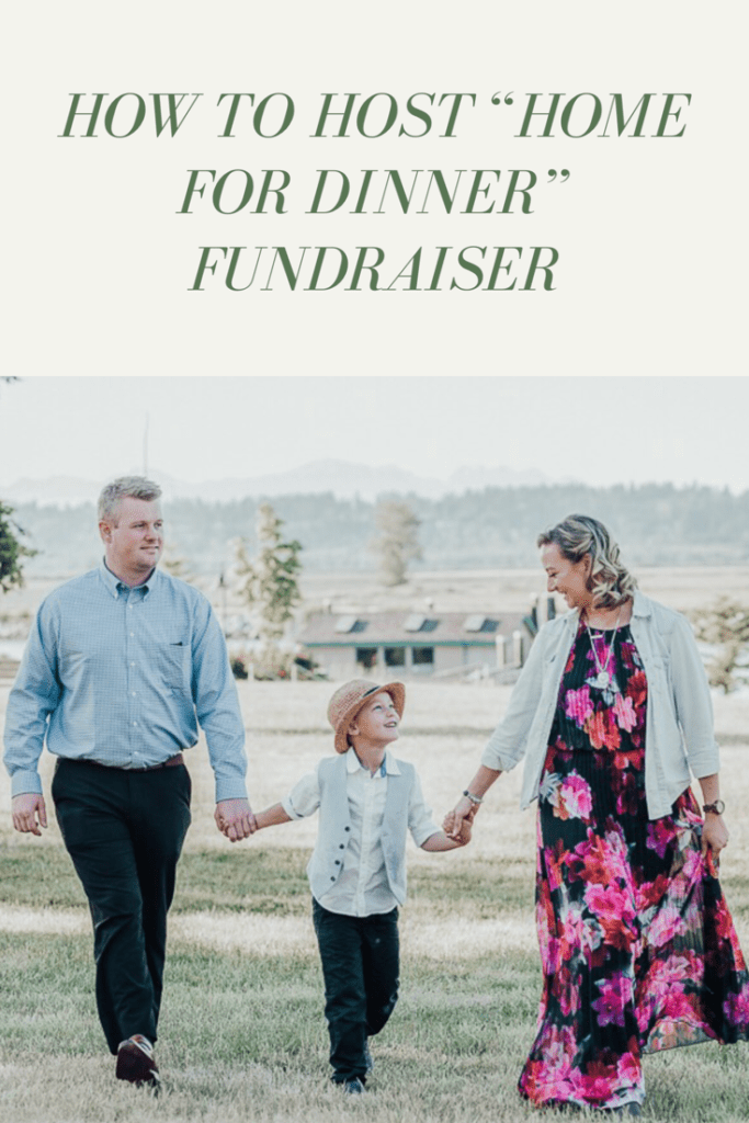 How to Host a Home for Dinner Conscious Community Fundraiser