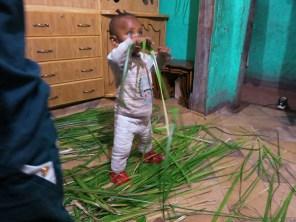 Natti, my landlady's youngest grandson