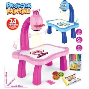 Projector Painting Desk