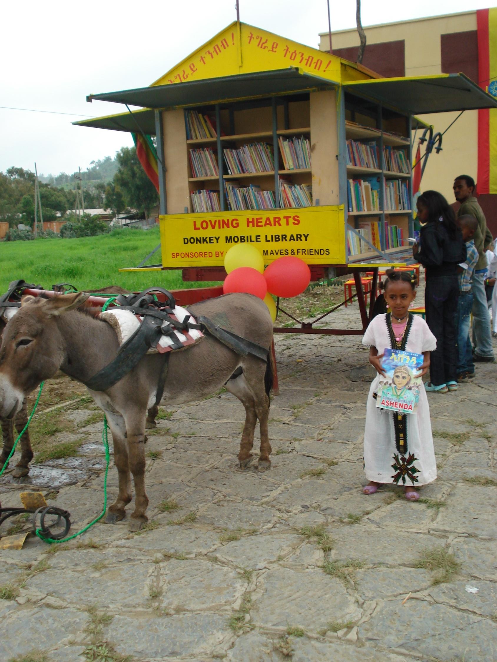 Children Delight In Tales On Wheels Ethio Wiki Leaks
