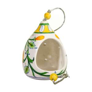 handmade bird feeder sold by Ethiqana a shop specialising in eco friendly products, earth friendly products and sustainable products.