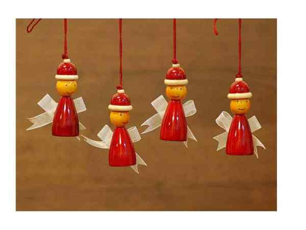 wooden fairy decorations sold by Ethiqana a shop specialising in eco friendly products, earth friendly products and sustainable products.