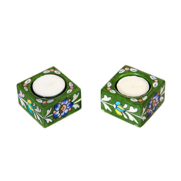 handamde tealight holder sold by Ethiqana a shop specialising in eco friendly products, earth friendly products and sustainable products.