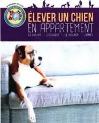livre élever un chien en appartement