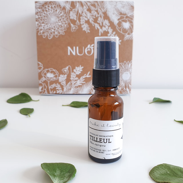 Essentielle [Nuoo Box – Février 2019] MAKE IT BEAUTY – Hydrolat aromatique de tilleul