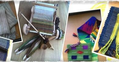 紡ぎと織りのワークショップ