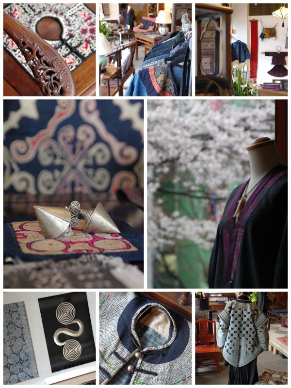 中国少数民族の衣装 布
