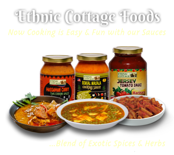 Ethnic Cottage Allnatural exotic sauces and amazing recipes