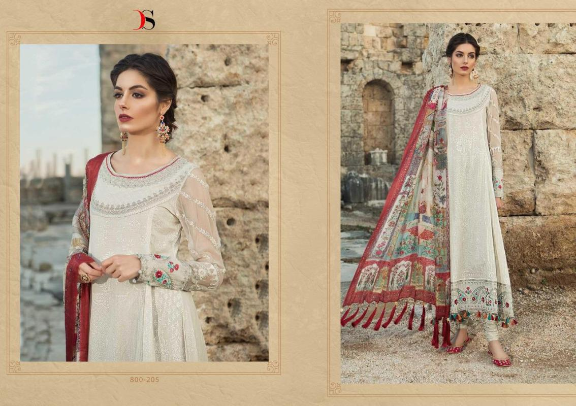 29538809b6 Deepsy-Maria-B-2-Lawn-19-Pure-Cotton-Summer-Wear-Pakistani-Salwar-Suit-7