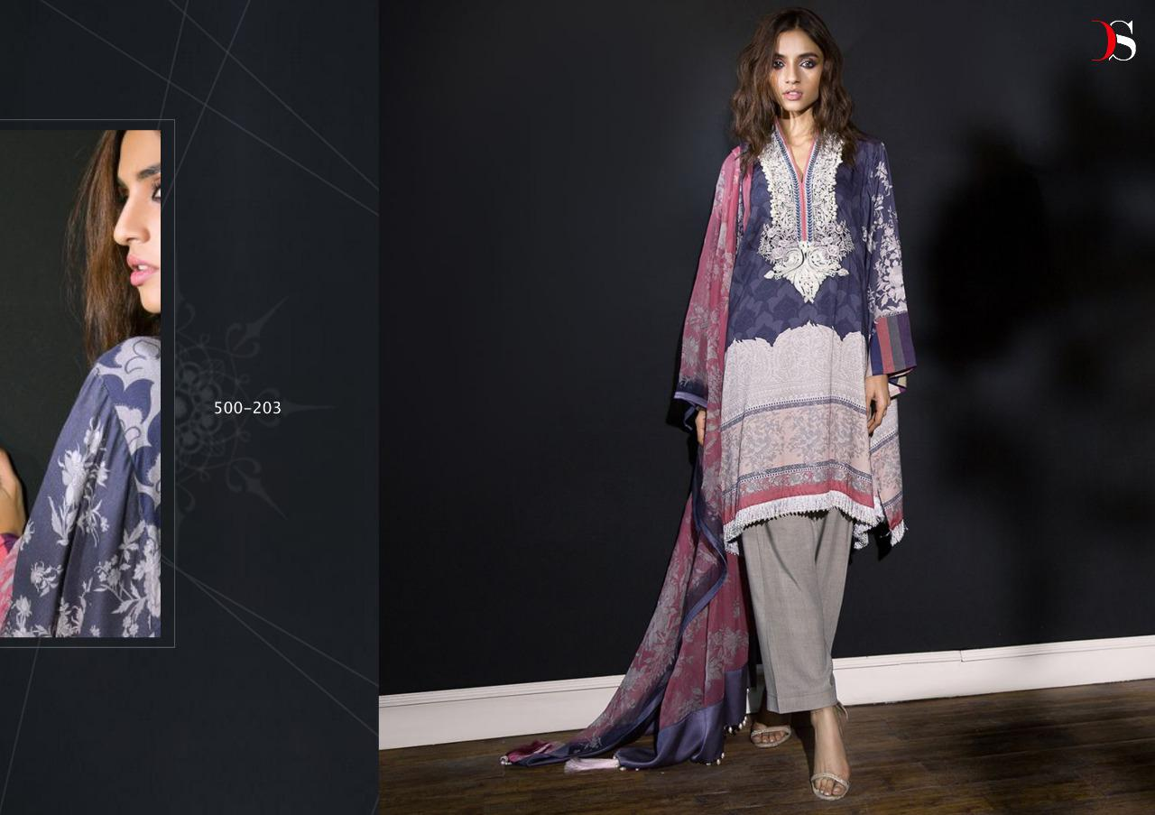 86ed5f677e Download PDF · Download Image Zip · Download PDF. Deepsy Suits Muslin Vol 4  Printed Pure Cotton with Embroidery work Pakistani Suits Collection
