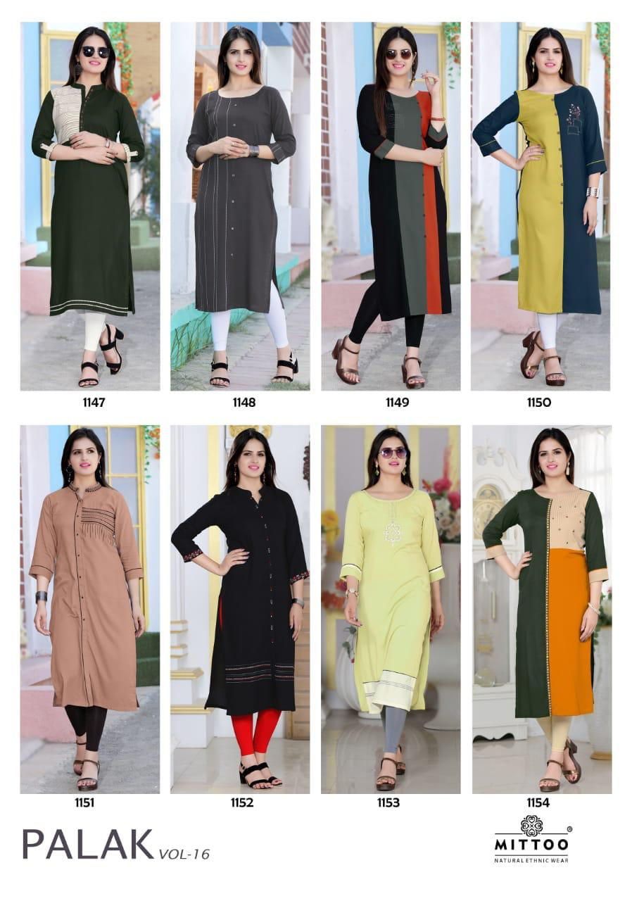16855b9de5 Download Image Zip · Download PDF · Download Image Zip · Download PDF. Mittoo  Palak Vol 16 Heavy Rayon with Work Straight Readymade Casual Kurtis Dealer  ...