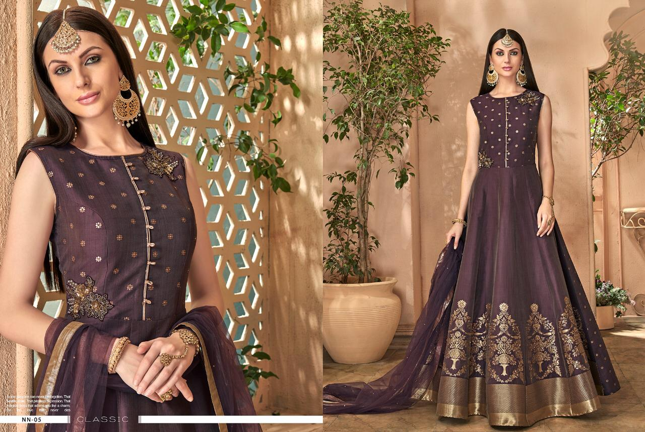 177d4225af Download Image Zip · Download PDF · Download Image Zip · Download PDF. STF  Nazraana Designer Silk Jacquard Readymade Party Wear Suits Collection ...