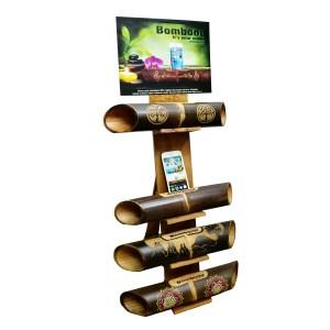 Caja Pack Altavoz de bambú para Smartphone