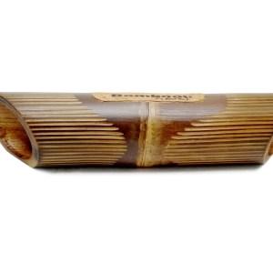 Altavoz de bambú grabado Lines – Lineas